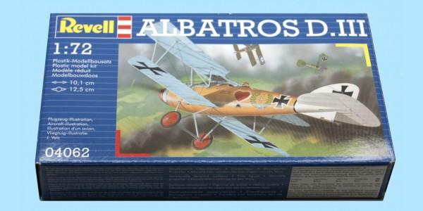 REVELL: 04062 - ALBATROS D.III - 1:72 - NEW - SEALED