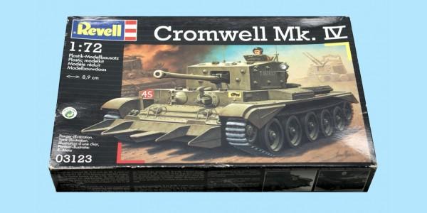 REVELL: 03123 BRITISH ARMY CROMWELL CRUISER TANK MK IV - UNMADE