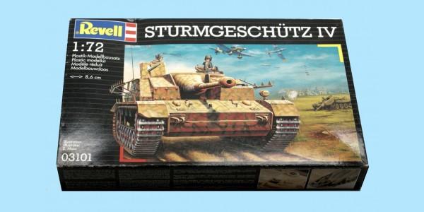 REVELL: 03101 GERMAN ARMY STURMGESCHUTX TANK MK IV - UNMADE