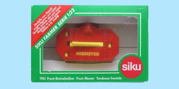 SIKU: 1961- NIEMEYER FRONT MOWER - MINT - NEW