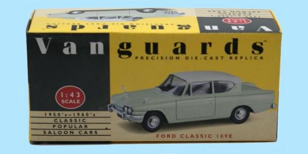 VANGUARDS: VA35000 - FORD CLASSIC 109E - 'LIME GREEN / WHITE' - NEW