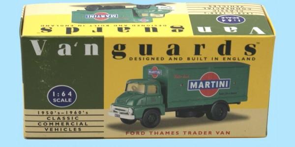 VANGUARDS: VA6000 - FORD THAMES TRADER VAN 'MARTINI'