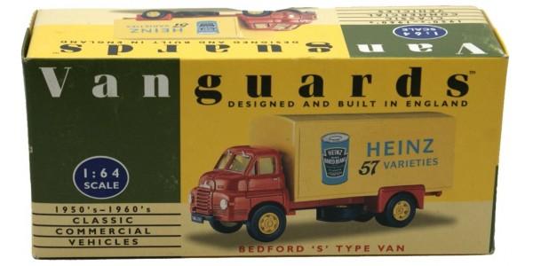 VANGUARDS: VA8000 - BEDFORD 'S' TYPE VAN 'HEINZ 57'